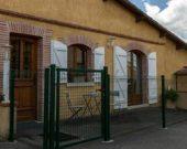 Entrée du Gîte du Moulin proche Muret.Toulouse